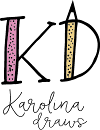 Karolina Draws logo