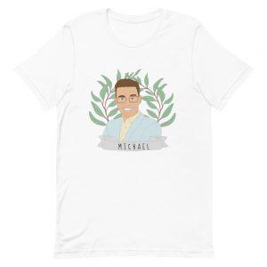 personalised portrait t-shirt